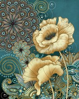 Inspired Blooms II Framed Print