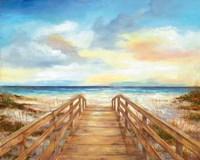Walk to the Beach Fine Art Print