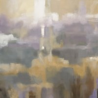 """Golden Field I by Carol Robinson - 12"""" x 12"""""""