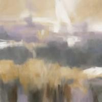 "Golden Field II by Carol Robinson - 12"" x 12"""