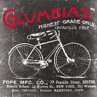 "Antique Bicycle II by Katrina Craven - 12"" x 12"""