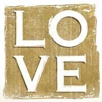 "Love by Kelly Donovan - 12"" x 12"""