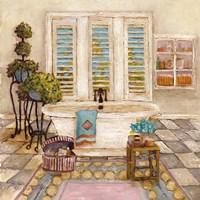 """Sunny Day Bath I by Charlene Olson - 12"""" x 12"""""""