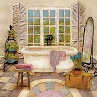 Sunny Day Bath II Fine Art Print