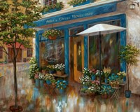 Anna's Corner Flower Shop Fine Art Print
