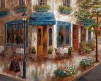 Le Petit Cafe Fine Art Print