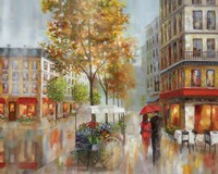 Romantic Promenade I Fine Art Print