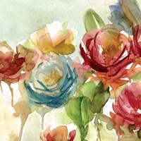 """Secret Garden I by Carol Robinson - 20"""" x 20"""""""