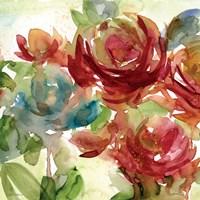 """Secret Garden II by Carol Robinson - 20"""" x 20"""""""