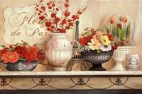 Fleurs de Paris Fine Art Print