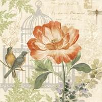 Floral Nature Trail III Fine Art Print