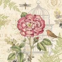 Floral Nature Trail IV Fine Art Print
