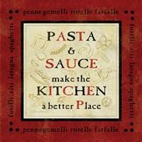 Pasta Sayings II Fine Art Print