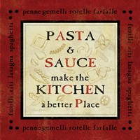 Pasta Sayings II Fine Art Print