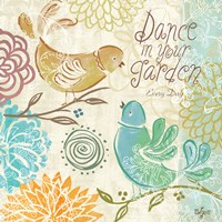 Bird Chirp II by Rebecca Lyon - various sizes, FulcrumGallery.com brand
