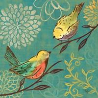 Elegant Chickadee I Fine Art Print