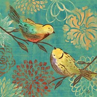 Elegant Chickadee II by Rebecca Lyon - various sizes - $16.99