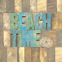 Beach Time II Framed Print