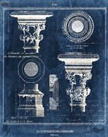 Vintage Blueprints I Fine Art Print