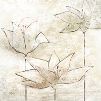 Floral Sketch I by Rebecca Lyon - various sizes
