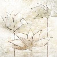 Floral Sketch I Fine Art Print