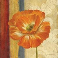 Poppy Tapestry Stripes I by Pamela Gladding - various sizes