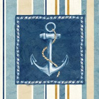 Nautical Stripe III Fine Art Print