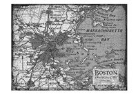 Environs Boston Gray Fine Art Print