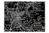 "Environs Boston Black by Carole Stevens - 19"" x 13"", FulcrumGallery.com brand"