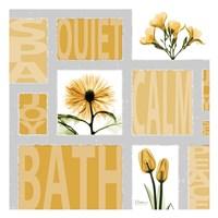 "Mondrian Flowers 4 by Albert Koetsier - 13"" x 13"""
