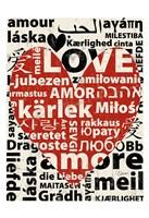 Love Lanquages 1 Fine Art Print