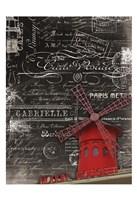 "Eco Vintage Paris 2 by Carole Stevens - 13"" x 19"", FulcrumGallery.com brand"