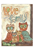 Love Family Fine Art Print