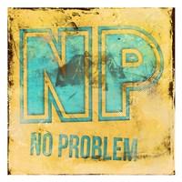 """NP by Enrique Rodriquez Jr - 13"""" x 13"""", FulcrumGallery.com brand"""