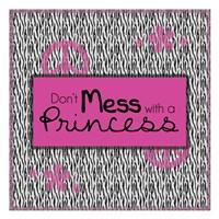 "Princess 2 by Lauren Gibbons - 13"" x 13"", FulcrumGallery.com brand"