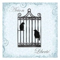 """Birdcage 4 by Lauren Gibbons - 13"""" x 13"""""""