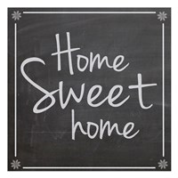"""Home Sweet Home by Lauren Gibbons - 13"""" x 13"""", FulcrumGallery.com brand"""