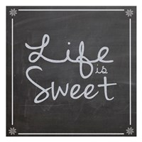 """Life Is Sweet by Lauren Gibbons - 13"""" x 13"""", FulcrumGallery.com brand"""