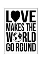"""World Go Round 2 by Jace Grey - 13"""" x 19"""""""