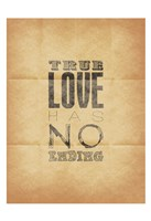 "True Love (Beige Background) by Jace Grey - 13"" x 19"", FulcrumGallery.com brand"