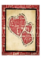 "Love 2 by Jace Grey - 13"" x 19"""