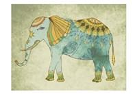"Indian Elephant by Jace Grey - 19"" x 13"""