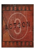 "Action by Jace Grey - 13"" x 19"""