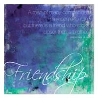 "Friendship by Jace Grey - 13"" x 13"", FulcrumGallery.com brand"
