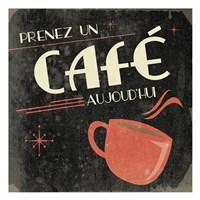 Coffee French II Framed Print