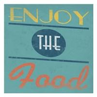 "Enjoy by Jace Grey - 13"" x 13"", FulcrumGallery.com brand"