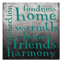 "Friends by Jace Grey - 13"" x 13"", FulcrumGallery.com brand"