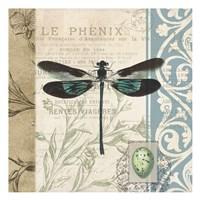 Cart Dragonfly Fine Art Print