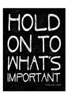 "Hold On by Jace Grey - 13"" x 19"", FulcrumGallery.com brand"