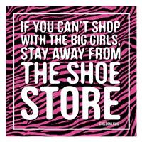 Shoe Store Framed Print